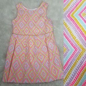 Osh Kosh Dress Aztec Sz 3T 4T Pink